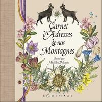 CARNET D ADRESSES DE NOS MONTAGNES MARRON PETIT FORMAT