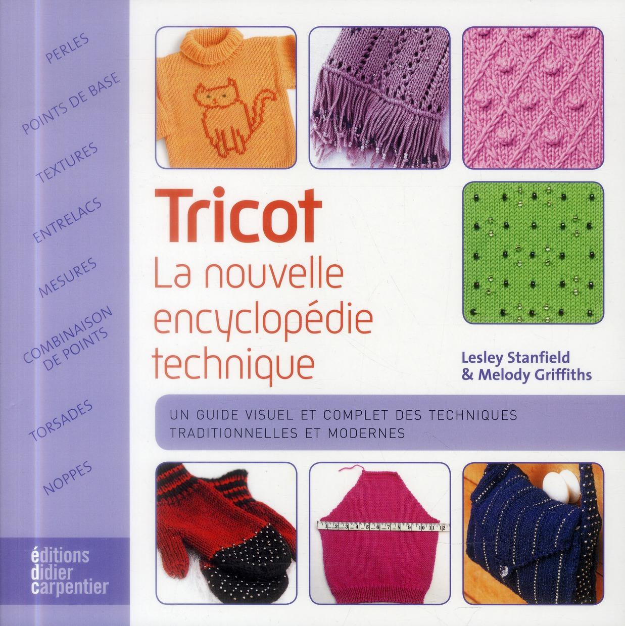 TRICOT, LA NOUVELLE ENCYCLOPEDIE TECHNIQUE