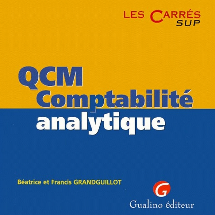 QCM COMPTABILITE ANALYTIQUE