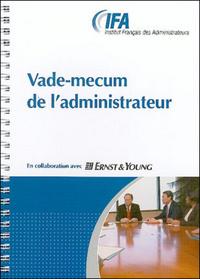 VADE MECUM DE L'ADMINISTRATEUR