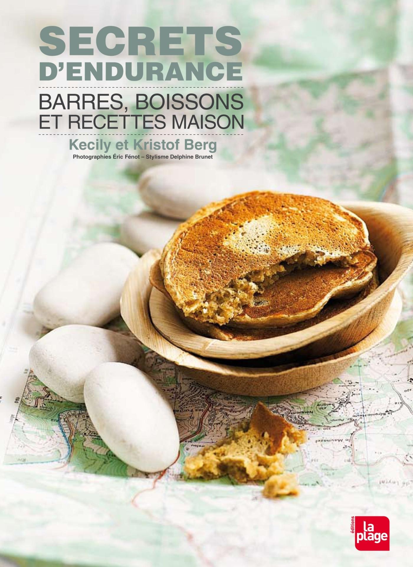 SECRETS D'ENDURANCE - BARRES, BOISSONS ET RECETTES MAISON