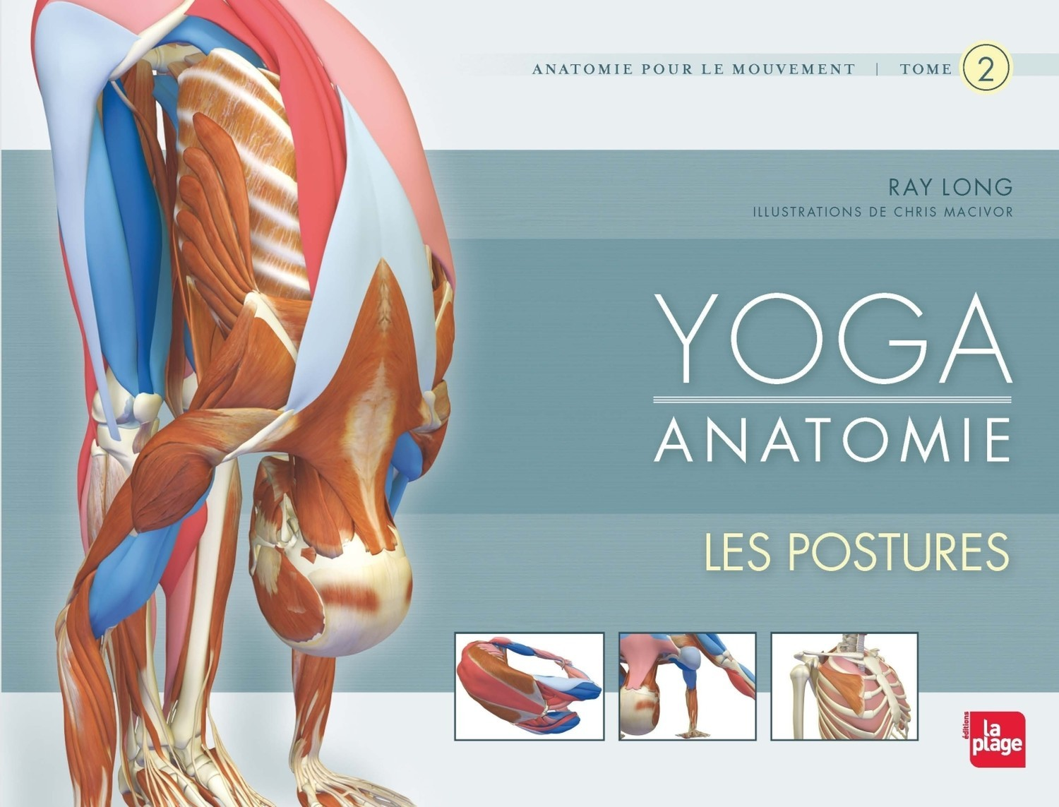 YOGA ANATOMIE LES POSTURES - TOME 2