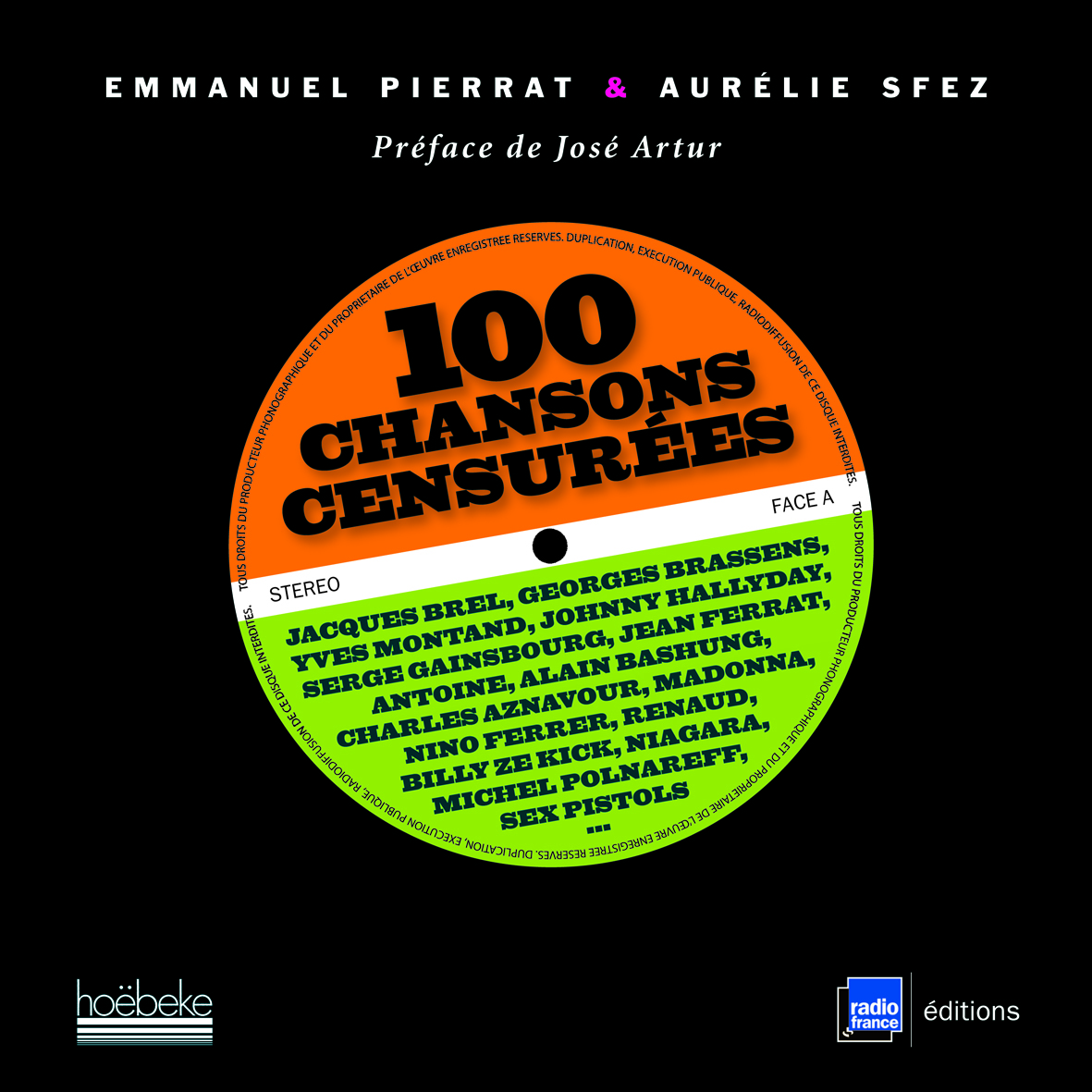 100 CHANSONS CENSUREES JACQUES BREL, GEORGES BRASSENS, YVES MONTAND, JOHNNY HALLYDAY, SERGE GAINSBOU