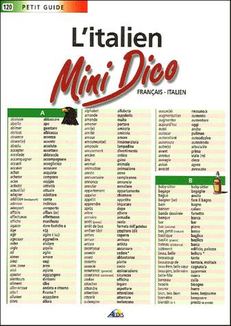 MINI DICO FRANCAIS/ITALIEN