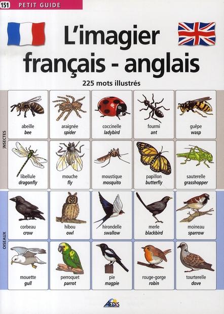L'IMAGIER FRANCAIS/ANGLAIS
