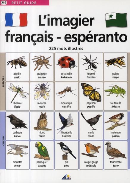 IMAGIER FRANCAIS/ESPERANTO
