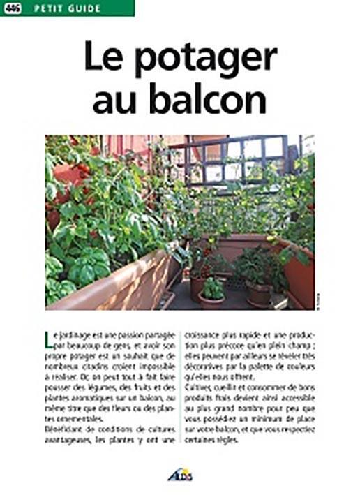 LE POTAGER AU BALCON