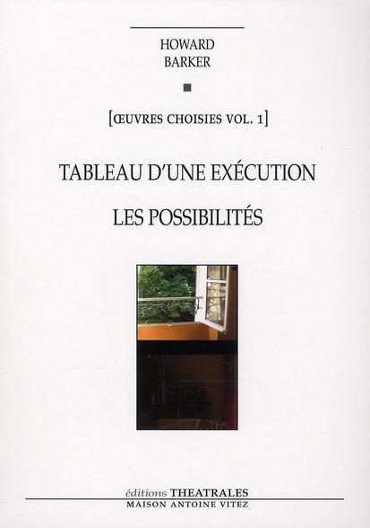 TABLEAU D UNE EXECUTION LES POSSIBILITES NED 2010