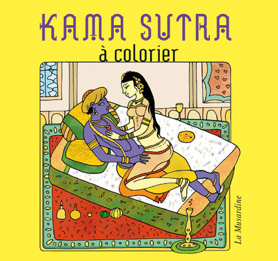 KAMA SUTRA A COLORIER