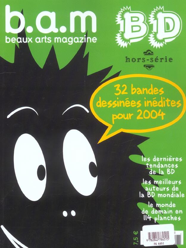 B.A.M N 9 HS - TRENTE DEUX BD DESSINEES INEDITES POUR 2004