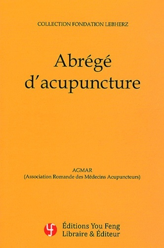 ABREGE D'ACUPUNCTURE