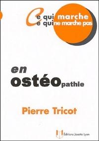 OSTEOPATHIE (EN)