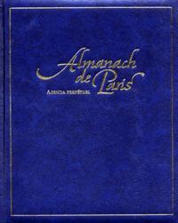 ALMANACH DE PARIS  AGENDA PERPETUEL