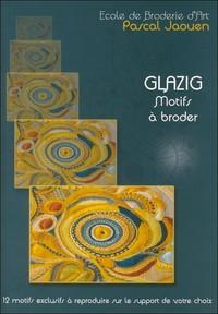 T 1 - GLAZIG MOTIFS A BRODER 2012 (BLEU)