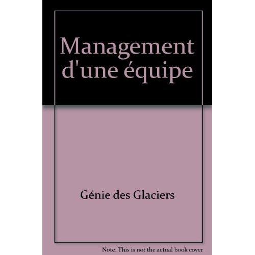 MANAGEMENT D'UNE EQUIPE (POCHETTE)
