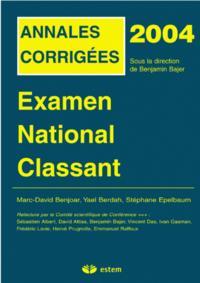 EXAMEN NATIONAL CLASSANT