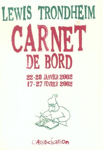 CARNET DE BORD 2 (22-28/01/02, 17-27/02/02)