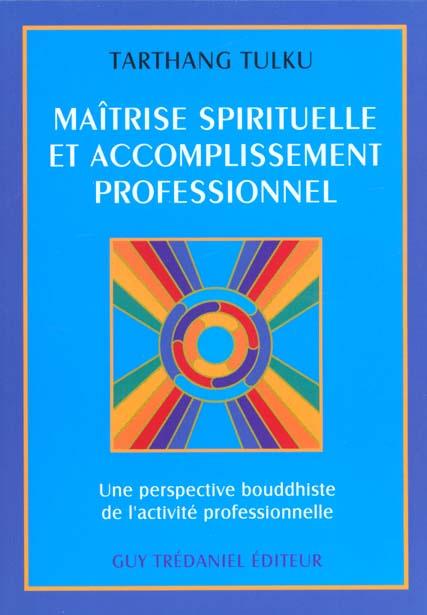 MAITRISE SPIRITUELLE ET ACCOMPLISSEMENT PROFESSIONNEL