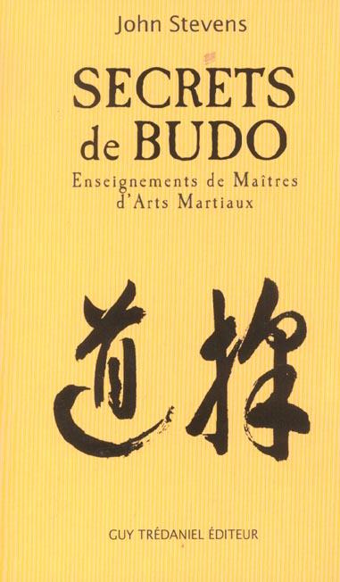 SECRETS DE BUDO