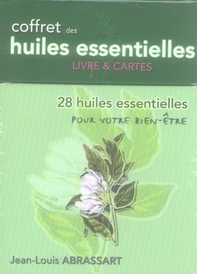 COFFRET DES HUILES ESSENTIELLES