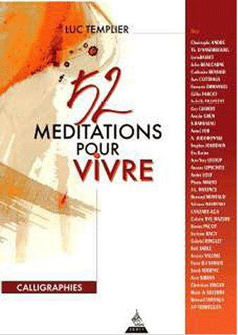 52 MEDITATIONS POUR VIVRE