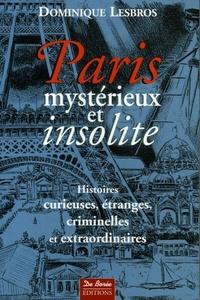 PARIS MYSTERIEUX ET INSOLITE T1