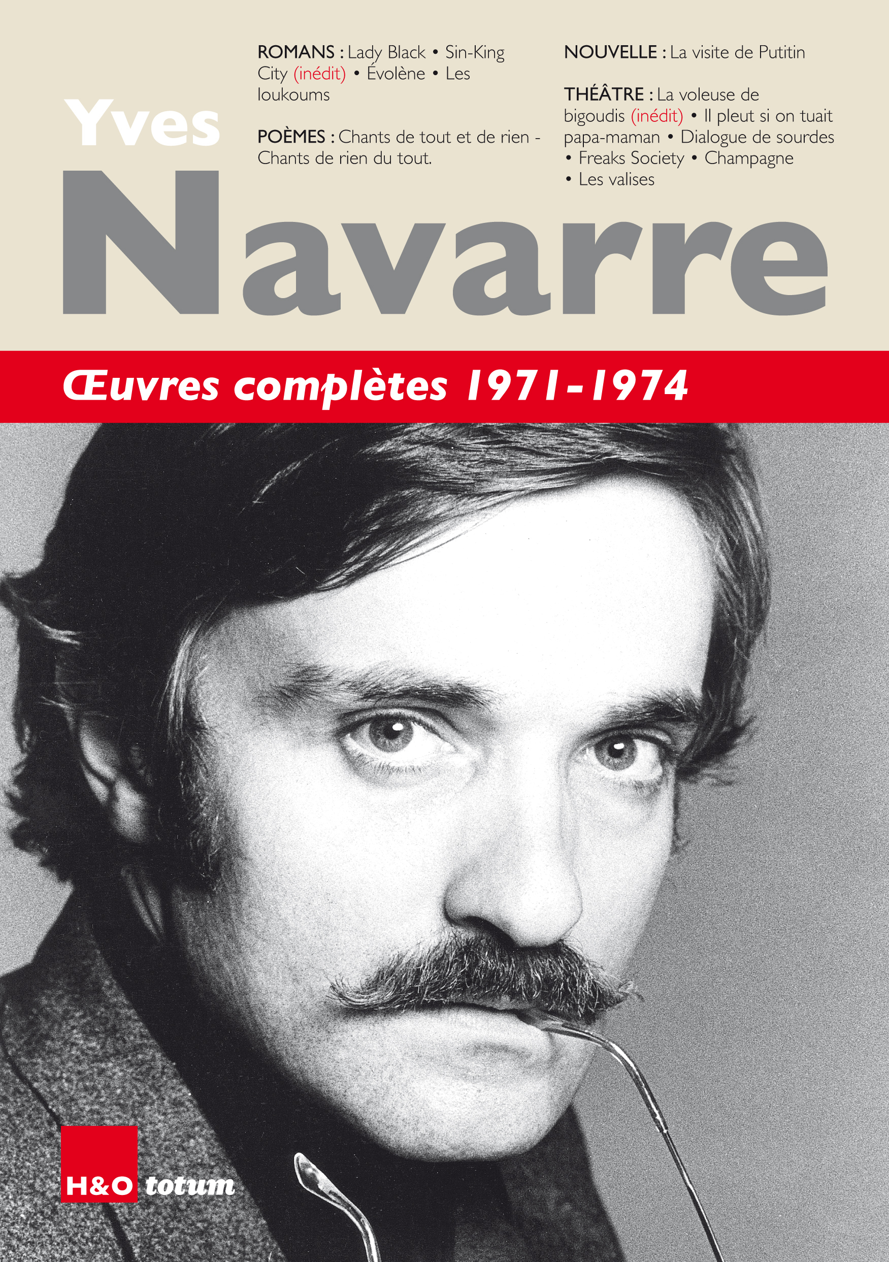 OEUVRES COMPLETES 1971-1974