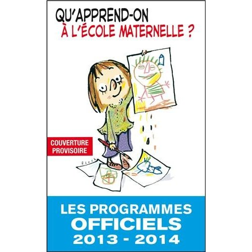 QU'APPREND-ON A L'ECOLE MAT 2013-2014