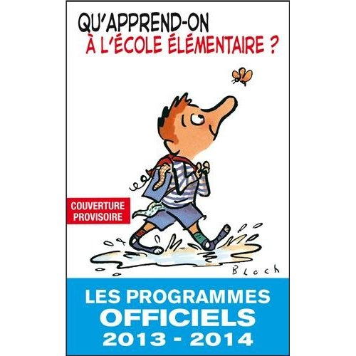 QU'APPREND-ON AL'ECOLE ELEM 2013-2014