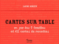CARTES SUR TABLES  JEU DES 7 FAMILLES ET 42 CARTES RECETTES