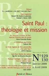 RESURRECTION 129-130 - ST PAUL: THEOLOGIE ET MISSIONS