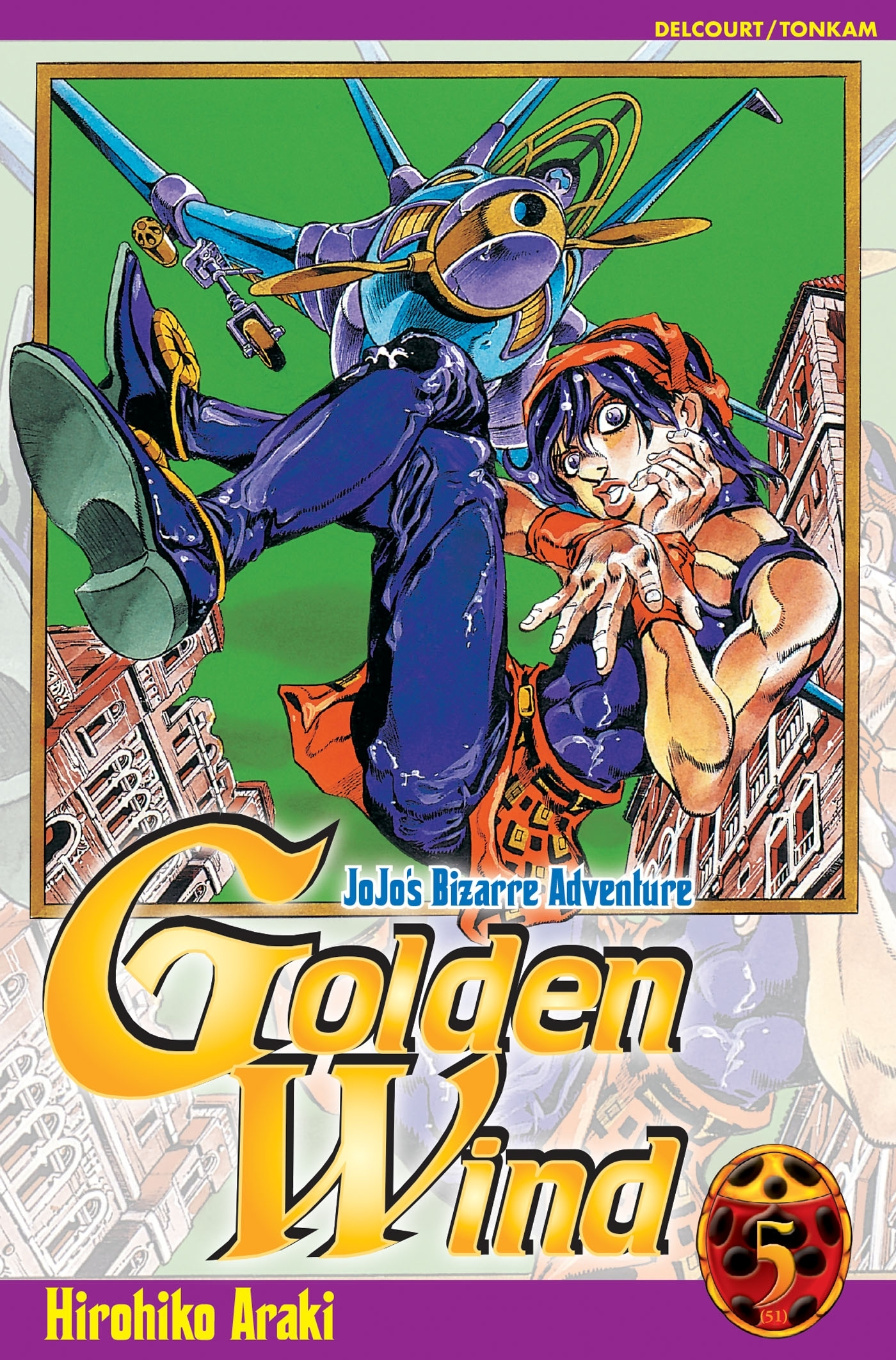 GOLDEN WIND - JOJO'S BIZARRE ADVENTURE -TOME 05-