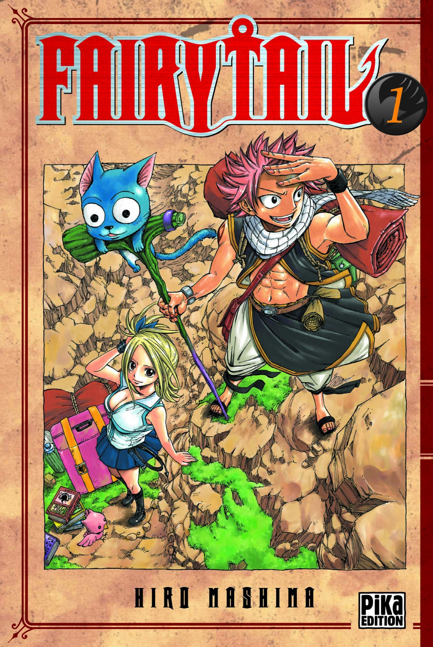 FAIRY TAIL T01