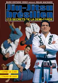 JIU-JITSU BRESILIEN - LES SECRETS DE LA DEMI-GARDE(COFFRET 3 DVD)