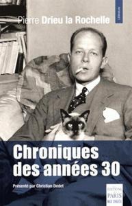 CHRONIQUES DES ANNEES 30