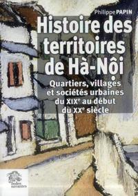 HISTOIRE DES TERRITOIRES DE HANOI