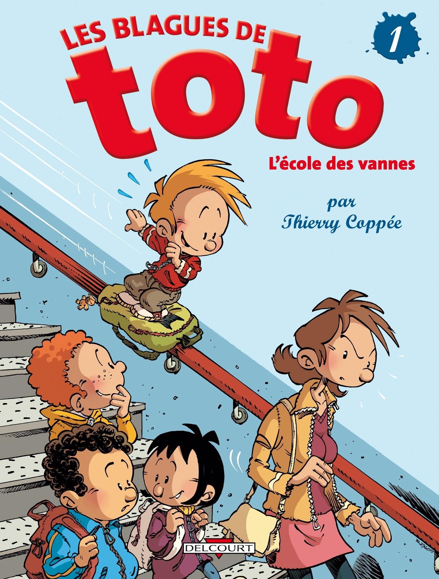 BLAGUES DE TOTO T01 - L'ECOLE DES VANNES