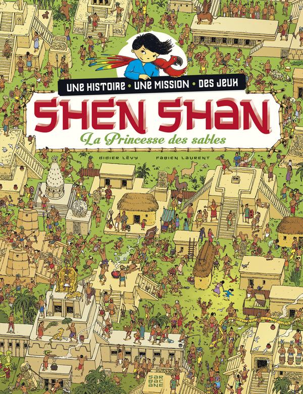 SHEN SHAN T5 LA PRINCESSE DES SABLES