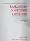 DIALOGUES D'HISTOIRE ANCIENNE 37/2-2011