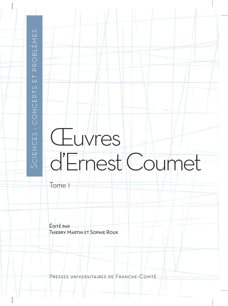 UVRES D'ERNEST COUMET (TOME 1)