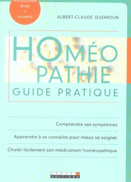 HOMEOPATHIE GUIDE PRATIQUE