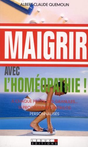 MAIGRIR AVEC L'HOMEOPATHIE