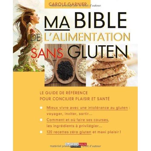 BIBLE DE L'ALIMENTATION SANS GLUTEN (MA)