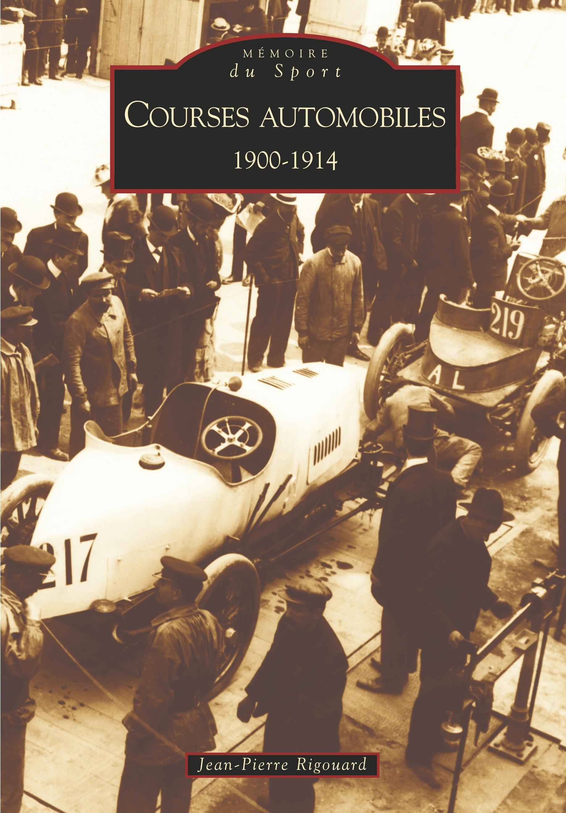 COURSES AUTOMOBILES 1900-1914