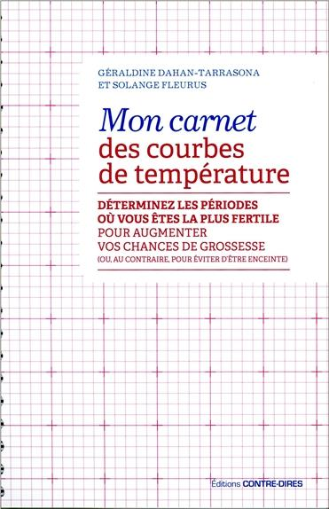 MON CARNET DES COURBES DE TEMPERATURE