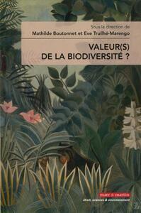 VALEUR S DE LA BIODIVERSITE