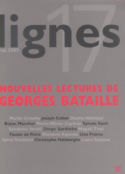 LIGNES N 17 - GEORGES BATAILLE
