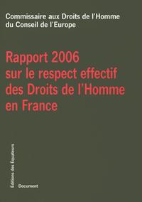 RAPPORT RESPECT DROITS HOMME
