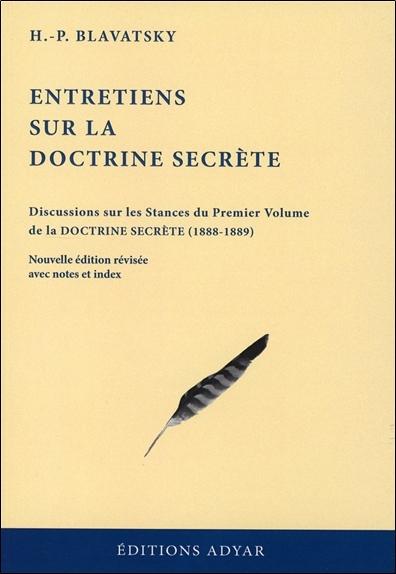 ENTRETIENS SUR LA DOCTRINE SECRETE