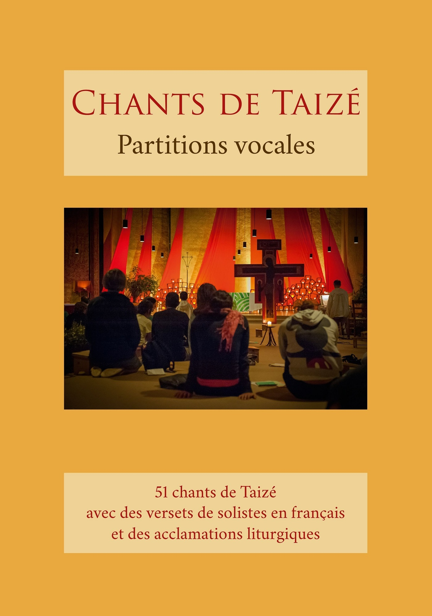 CHANTS DE TAIZE - PARTITIONS VOCALES